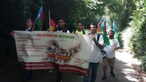 Free Balochistan Movement long march kicked off from Dusseldorf city of Germany