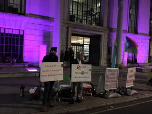 Free Balochistan Movement announces another week-long sit-in outside Chinese Embassy