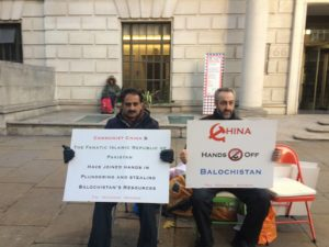 Free Balochistan Movement to stage week long sit-in protest at Chinese Embassy London